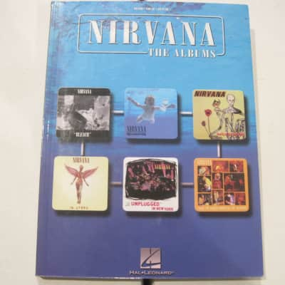 Nirvana The Albums Sheet Music Song Book Songbook Piano Vocal Guitar