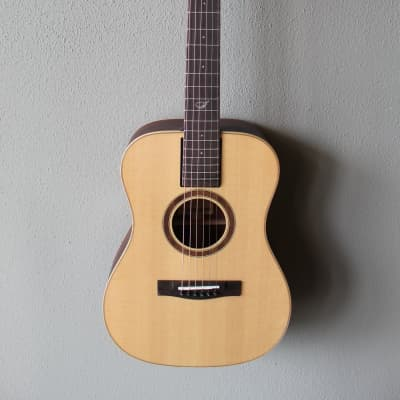 Brand New Journey OF422 Overhead Solid Sitka Spruce Acoustic/Electric Travel Guitar for sale