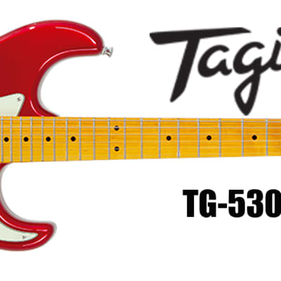 Tagima TG-530MR 6-String Electric Guitar Metallic Red for sale
