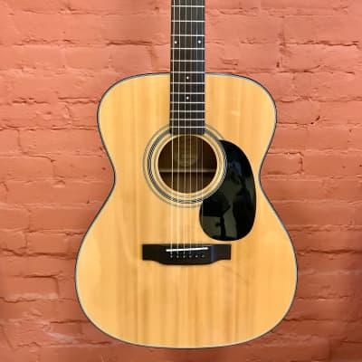 Bristol BM-16 Natural 000-Style Acoustic Guitar for sale