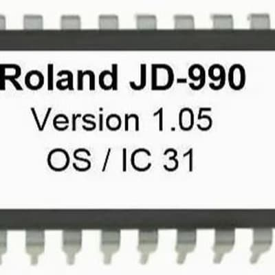 Roland jd-990 V. 1.05 firmware upgrade Update EPROM [ latest OS ] jd990