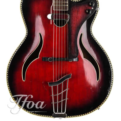 Klira Red King 1950s archtop for sale