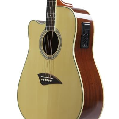 Kona K1 Series Left Handed Cutaway Acoustic/Electric Guitar for sale