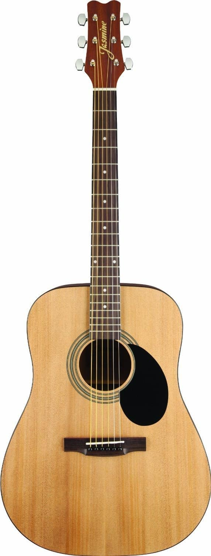 jasmine s35 dreadnought acoustic guitar natural audioride reverb. Black Bedroom Furniture Sets. Home Design Ideas