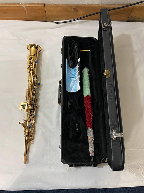 yamaha 875ex custom soprano saxophone mint reverb. Black Bedroom Furniture Sets. Home Design Ideas