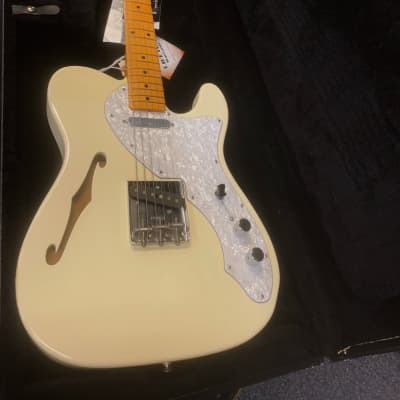 Fender American Vintage '69 Thinline Telecaster Limited Edition Off White for sale