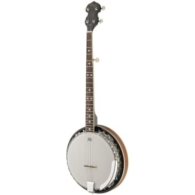 Stagg BJM30 LH 5-string Bluegrass Banjo Deluxe pour gaucher for sale