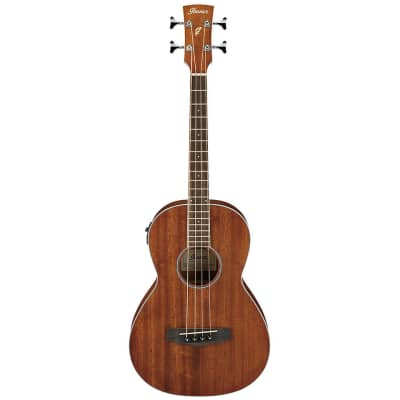 Ibanez PNB14EOPN Spruce / Sapele 4-String Open Pore Parlor Bass