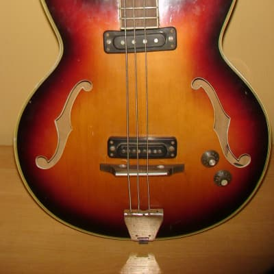 Musima 1657B - 25 Bass Guitar GDR Vintage and Rare for sale