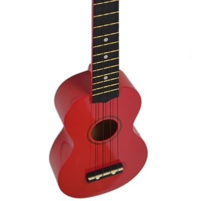 Kona Soprano Ukulele Red With Soft Case Ideal Starter Or Travel Uke Many Colour Options! for sale