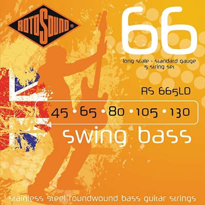 RotoSound Swing Bass Standard 5-String Set