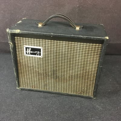 1964 Harmony H303A 8 watt 1x8 Guitar Tube Amplifier Made in USA for sale