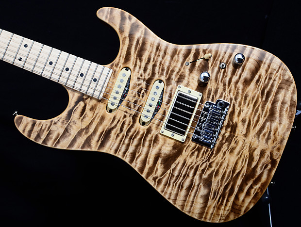 New Tom Anderson Drop Top Guitar! Natural Mocha, Quilt | Reverb : quilt top guitar - Adamdwight.com