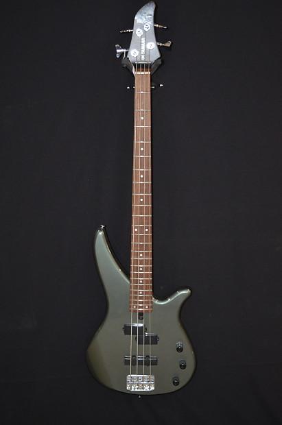 Yamaha RBX170 4 String Bass Guitar Silver Grey