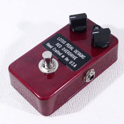 Lotus Pedal Designes Red Overdrive