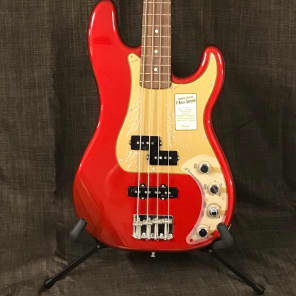 Fender Deluxe precision bass 2011 Candy apple red for sale