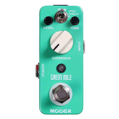 Mooer Green Mile Tube Screamer Style Guitar Pedal True Bypass New in Box Free Shipping