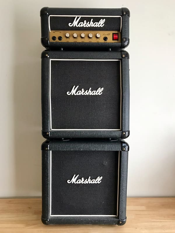 1987 Marshall Lead 12 Mini Stack Amplifier - Celebrity Owned!