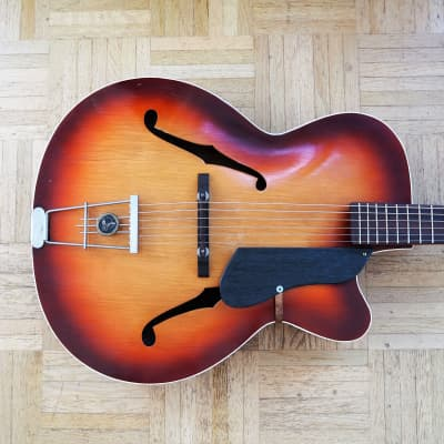 Hopf / Klira archtop guitar ~1959 made in Germany - rare vintage for sale
