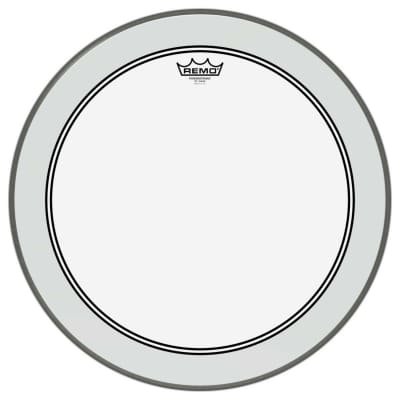 """Remo 24"""" Clear Powerstroke 3 for Bass Drum P3-1324-C2"""