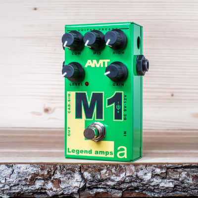 AMT Electronics M1 (Marshall) - guitar preamp (distortion/overdrive) effect pedal