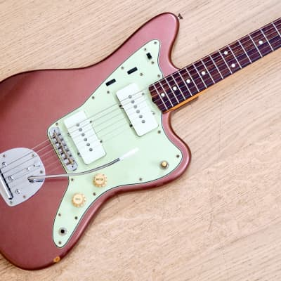 2002 Fender Jazzmaster '62 Vintage Reissue Burgundy Mist Japan CIJ, USA Pickups for sale
