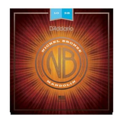 D'Addario Mandolin 10-38 Nickel Bronze Strings
