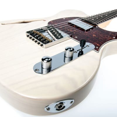 Electric Guitar G&L Tribute Asat Classic Bluesboy Semi Hollow - Blonde for sale