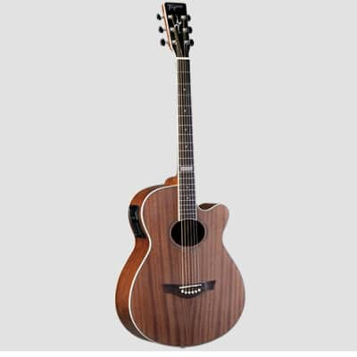 Tagima Dallas-T-Mahogany NM A/E Guitar Cutaway Steel String for sale