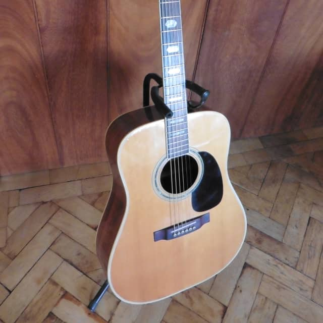 ☆ Very Rare Acoustic ☆ Kasuga D35 (D350) Japanese Beauty! ☆ Pro Refurb + Martin Strings Fitted image