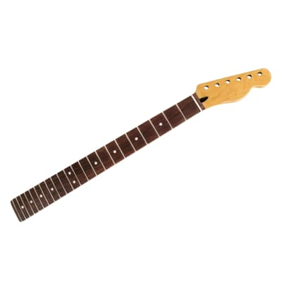 Mighty Mite Vintage Amber Neck for Tele, Indian Rosewood fingerboard for sale