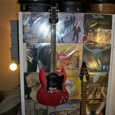 Epiphone 2020 SG Classic Worn P-90s + Epiphone Gig Bag for sale