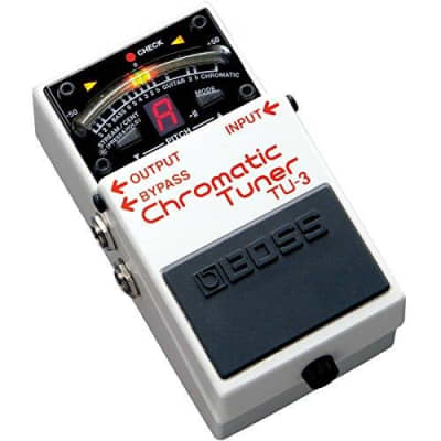 Boss TU-3 Chromatic Guitar Tuner Pedal for sale