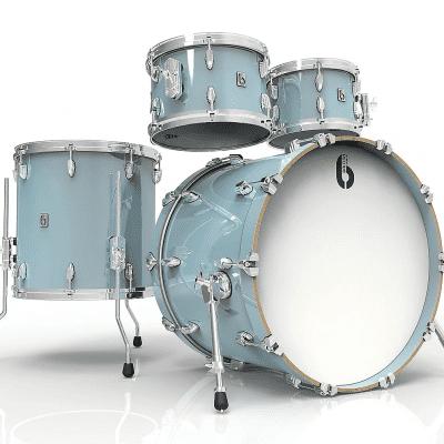 "British Drum Company Legend Series Fusion 22 10x7 / 12x8 / 14x14 / 22x16"" 4pc Birch Shell Pack"