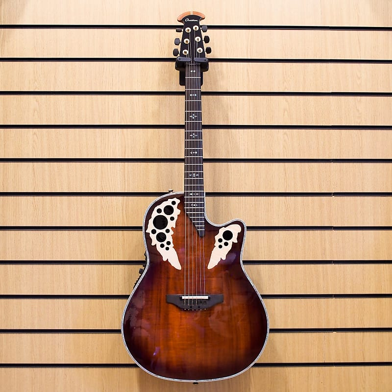 Ovation Collector's Series C2078AXP-KOA Elite Plus, Figured Koa image