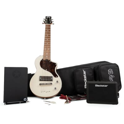 Blackstar Carry-On Guitar Deluxe Pack w/ Guitar, Amp and Gig Bag - Vintage White