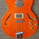 Italia Torino Bass Trans Orange w/Gigbag