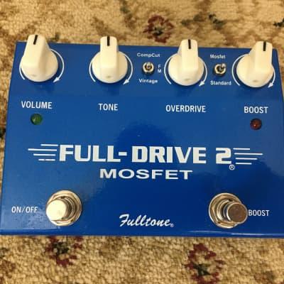 Used Fulltone Fulldrive 2 MOSFET Overdrive