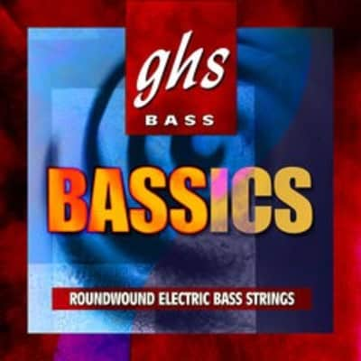 GHS ML6000 Bass Bassics 4-String Bass Set, 44-102