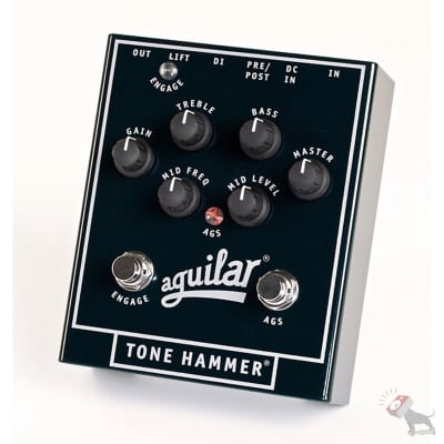 Aguilar Amplification Tone Hammer Bass Preamp/Direct Box Effects Pedal