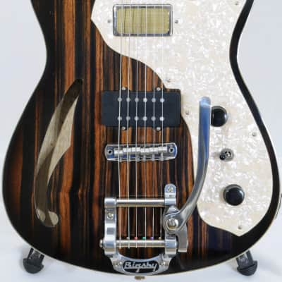 Echopark Clarence CASE STUDY - Ebony & Korina - BRAND NEW for sale