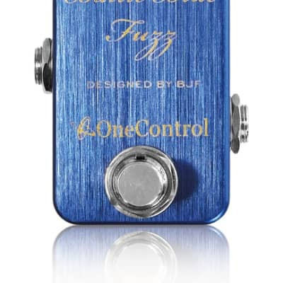 One Control Baltic Blue Fuzz Electric Guitar Effect Pedal BJF Series for sale