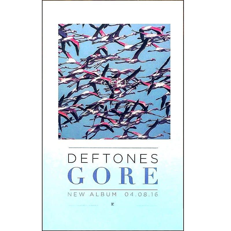 cc6370beb Deftones - Gore Ltd Ed New Rare Poster Display! Nu Metal Rock | Reverb