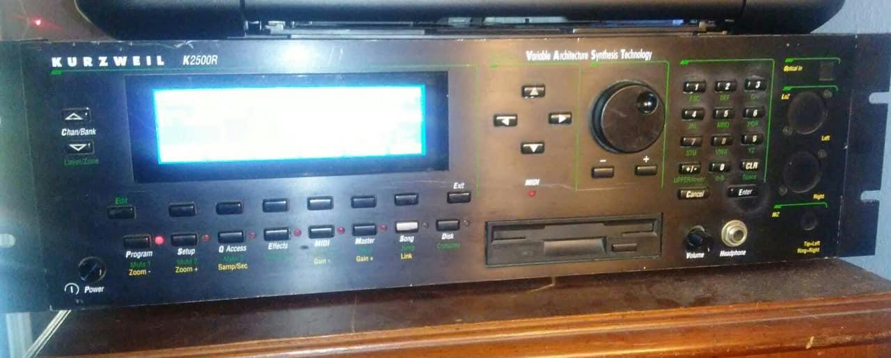 Kurzweil k2500r Manual