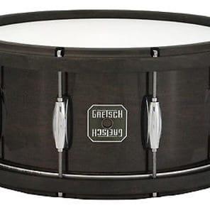 Gretsch 6.5X14 Maple Wood Hoop-Black - Liquidation Deal!