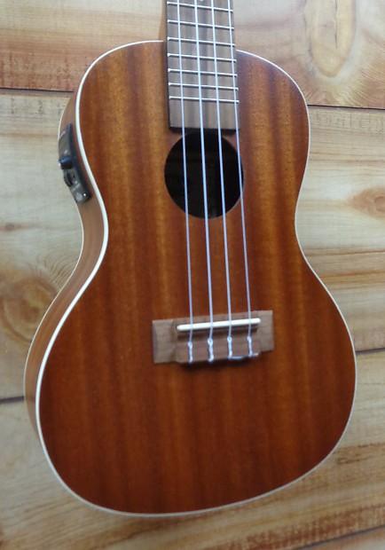 new kala ka ce acoustic electric concert ukulele natural reverb. Black Bedroom Furniture Sets. Home Design Ideas