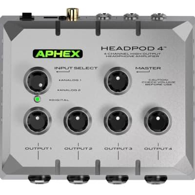 Aphex HEADPOD 4 High Output Headphone Amplifier