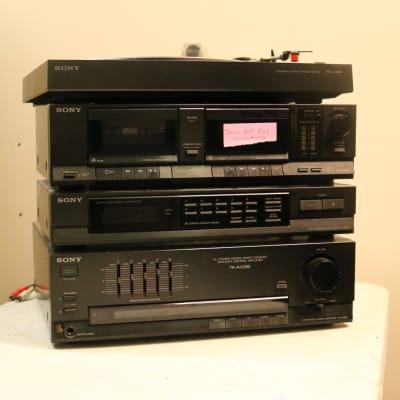 Sony TA-AX285, JX285, PS-LX285, Amp, Record Turn Table, Tuner + Broken Cassette