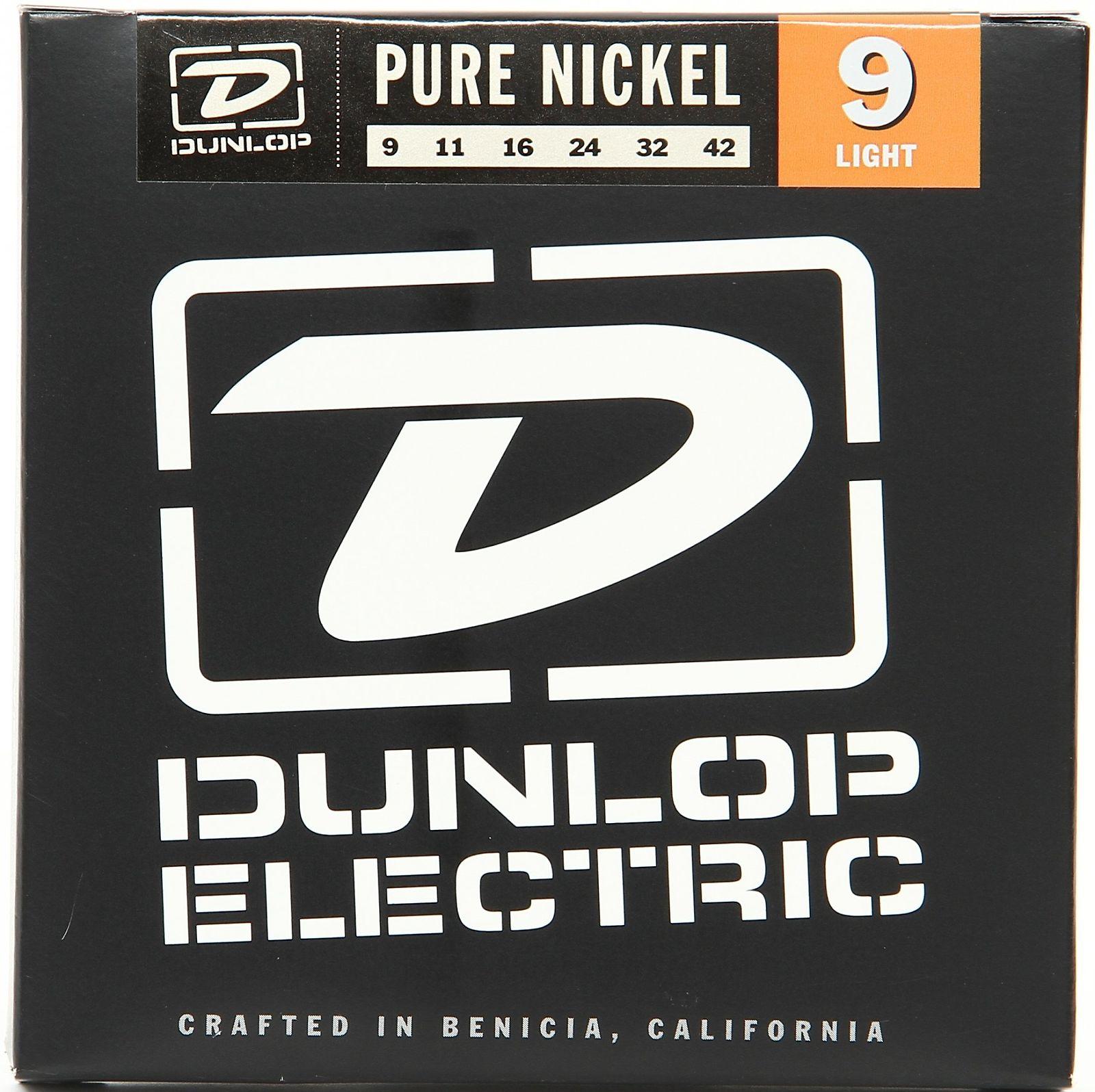 9-42 Dunlop DEN0942 Light Electric Guitar Strings