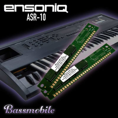 Ensoniq ASR-10 RAM Expansion Upgrade Kit  by Bassmobile.org